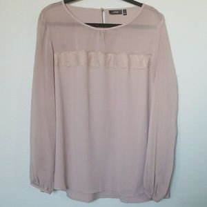Apt. 9 XL long sleeve blouse